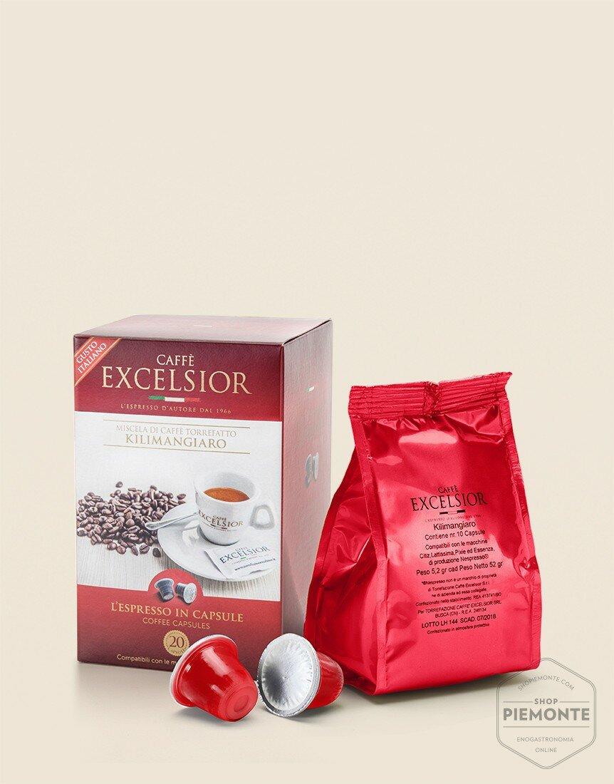 Caffè capsule Kilimangiaro compatibili Nespresso