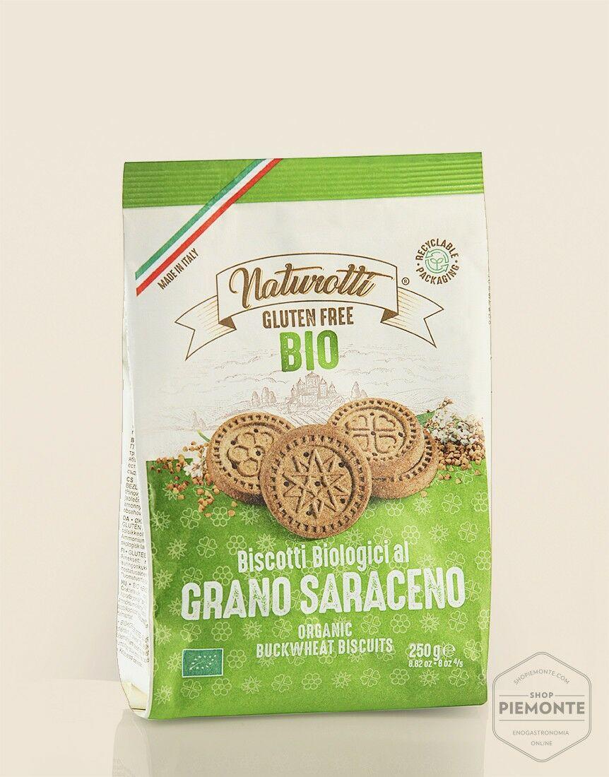 Biscotti al Grano Saraceno Bio & Gluten Free