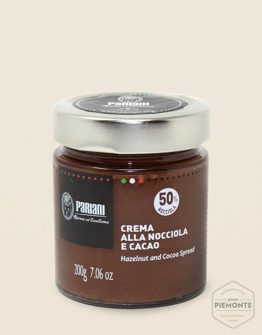 Crema Pariani alla Nocciola e Cacao 200 gr
