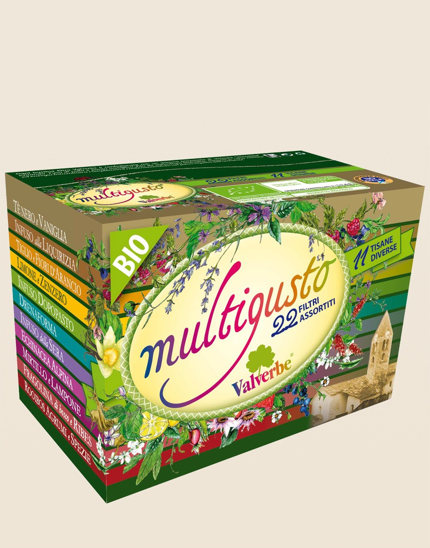 Multigusto Mini 22 assorted Organic filters