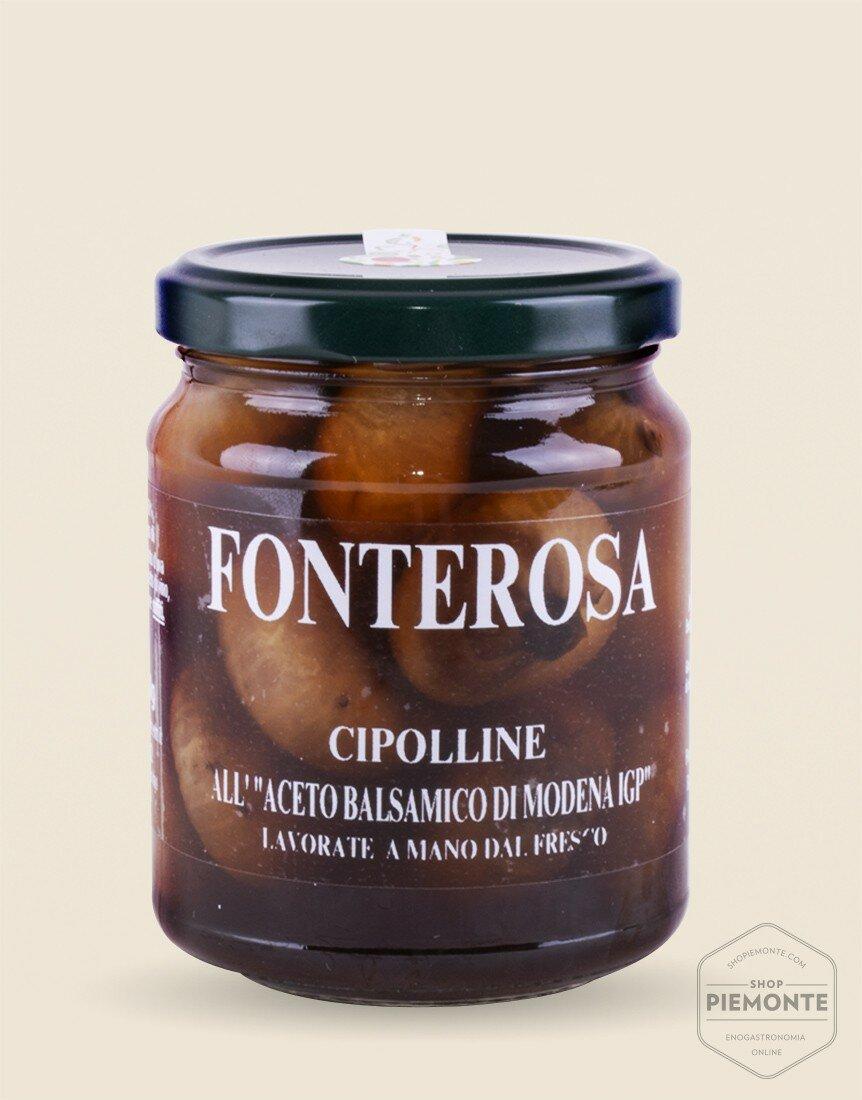 Cipolline all'aceto balsamico di Modena