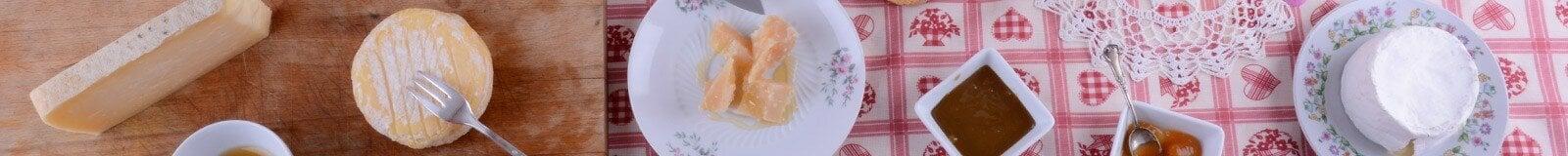 Salami and cheeses