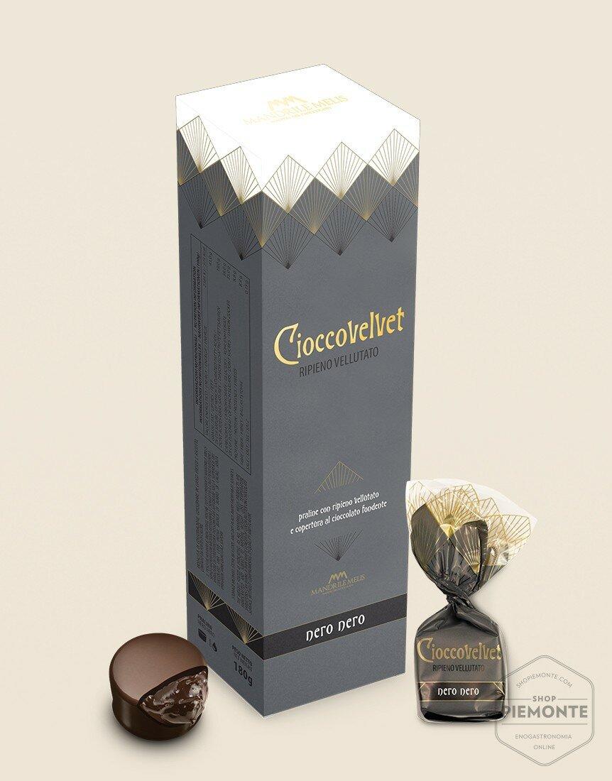 Astuccio Cioccovelvet Nero 180g