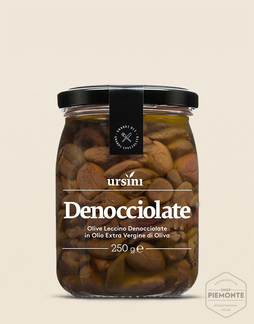 Olive denocciolate Leccino