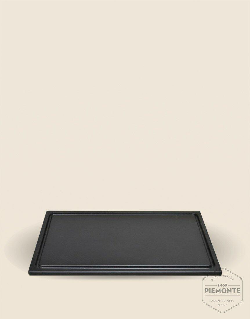 Euroceppi Tagliere Polietilene nero cm 35x24x1,5