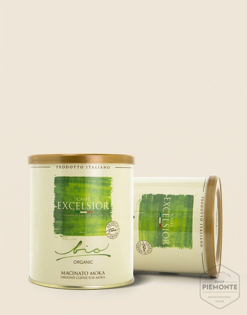 100% Arabica Organic mocha ground coffee in can