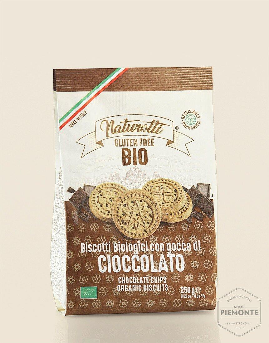 Biscotti al Cioccolato Bio & Gluten Free