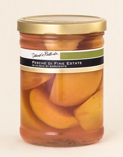 Late Summer Peaches in Spring Water