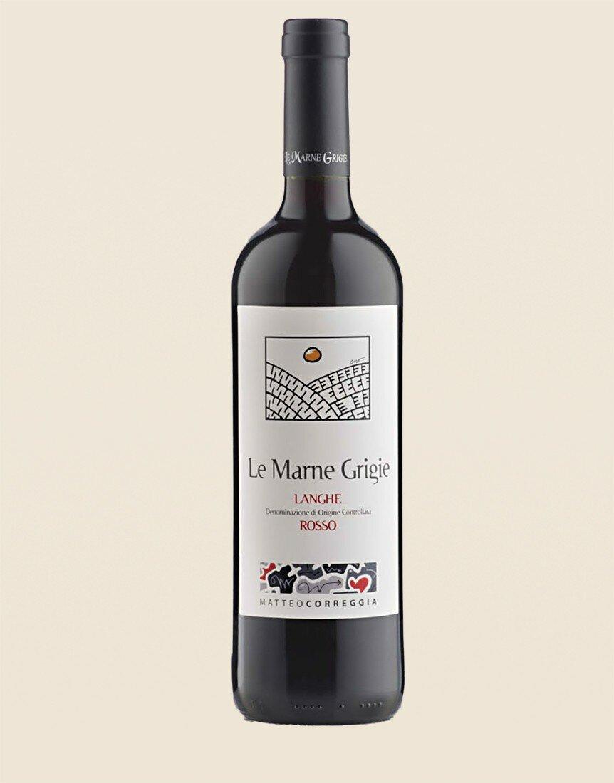"""Langhe Rosso DOC 2013 """"Le Marne Grigie"""" Matteo Correggia"""