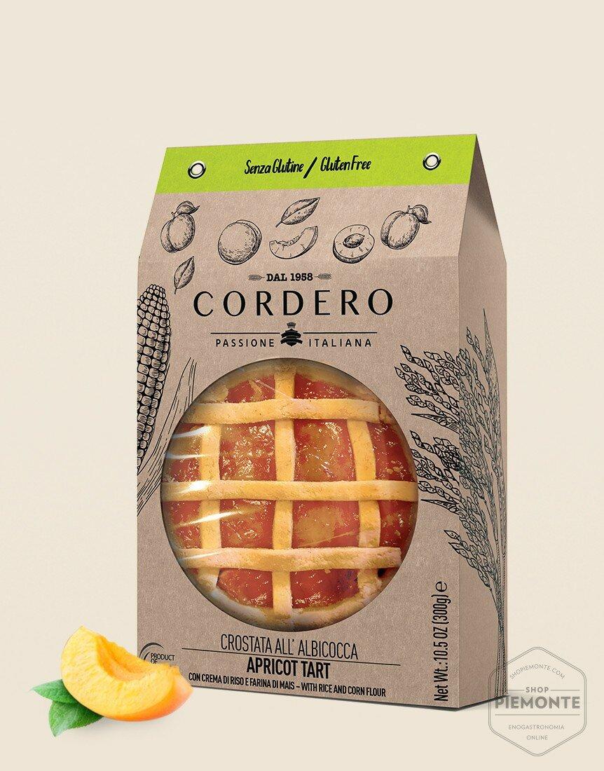 Crostata Albicocca 300g