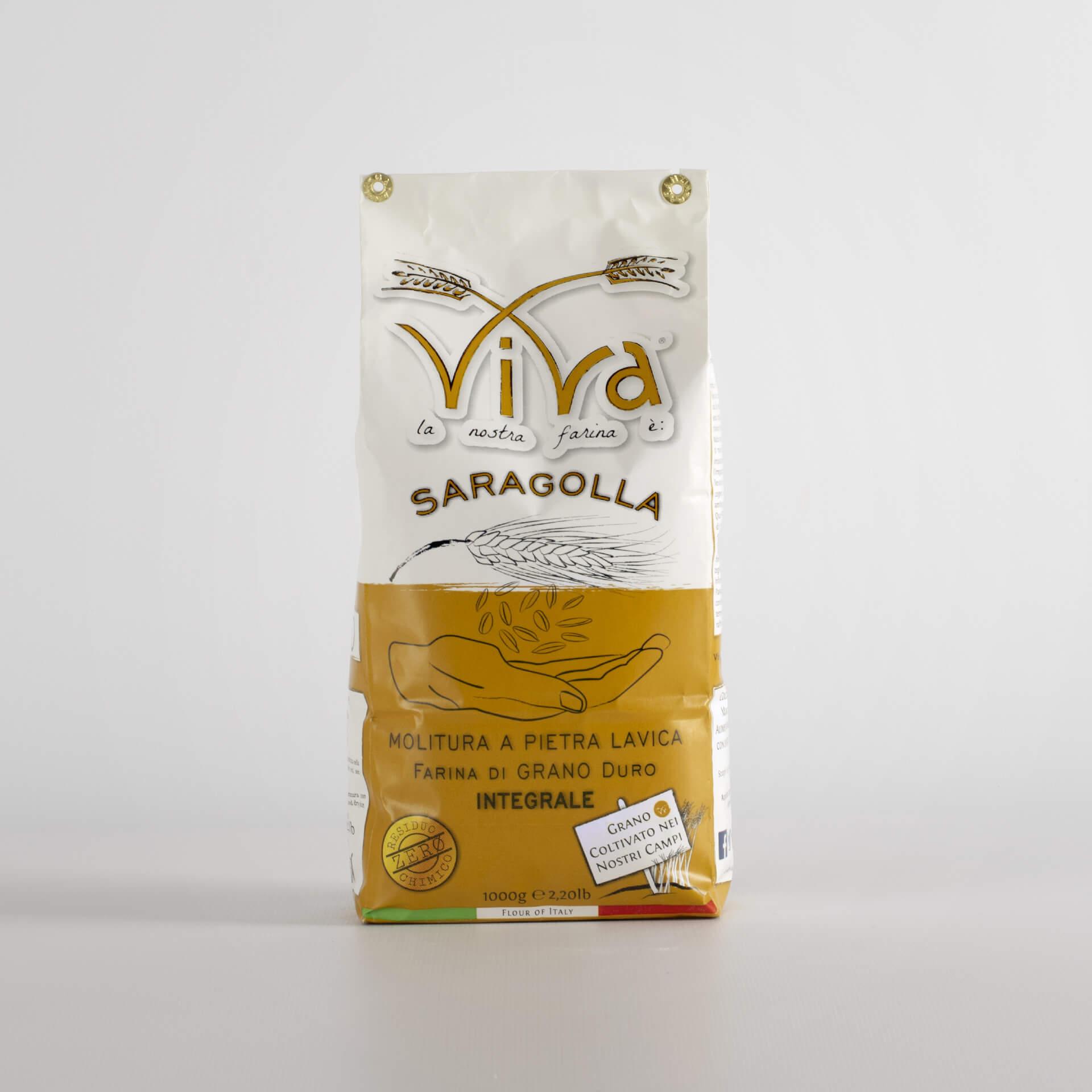 Farina di Grano Duro Saragolla 1 kg