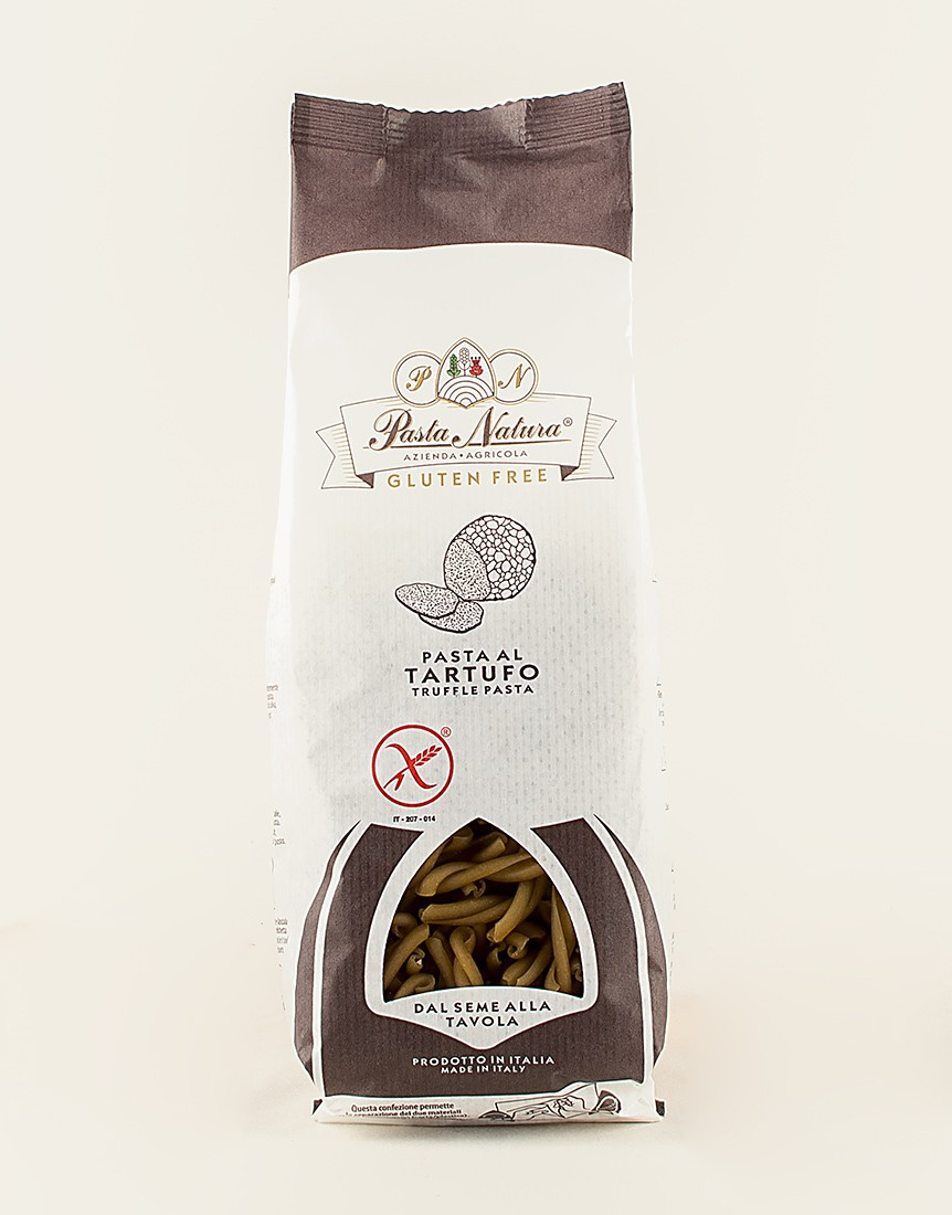 Casareccia al Tartufo - Gluten Free (Gluten-free Truffle-flavoured Dry Pasta)