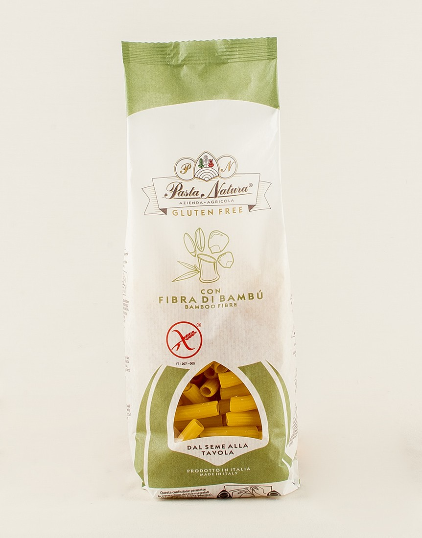 Gluten-free Bamboo fibre Macaroni